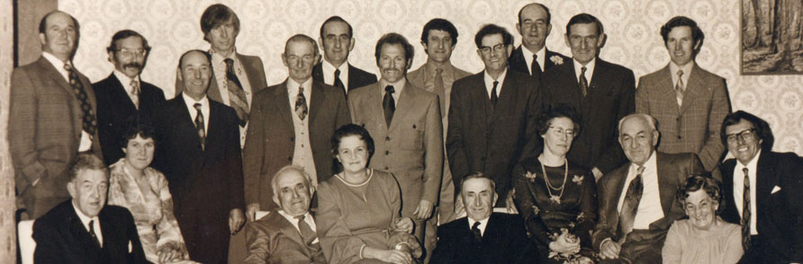 The Gwinear Show Committee in the 1970s